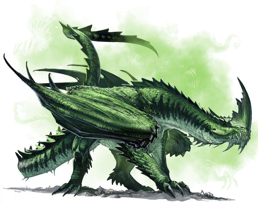 Arashne/Green Dragon