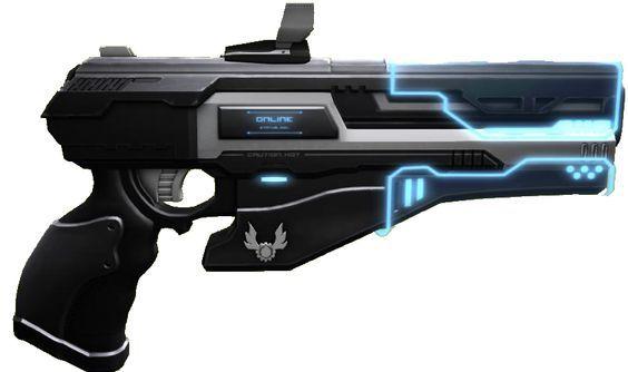 Octavious' gun