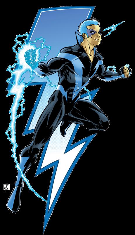Jae Murphy (AKA Blue Bolt)