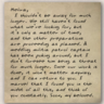 Skreed's letter to Merlina