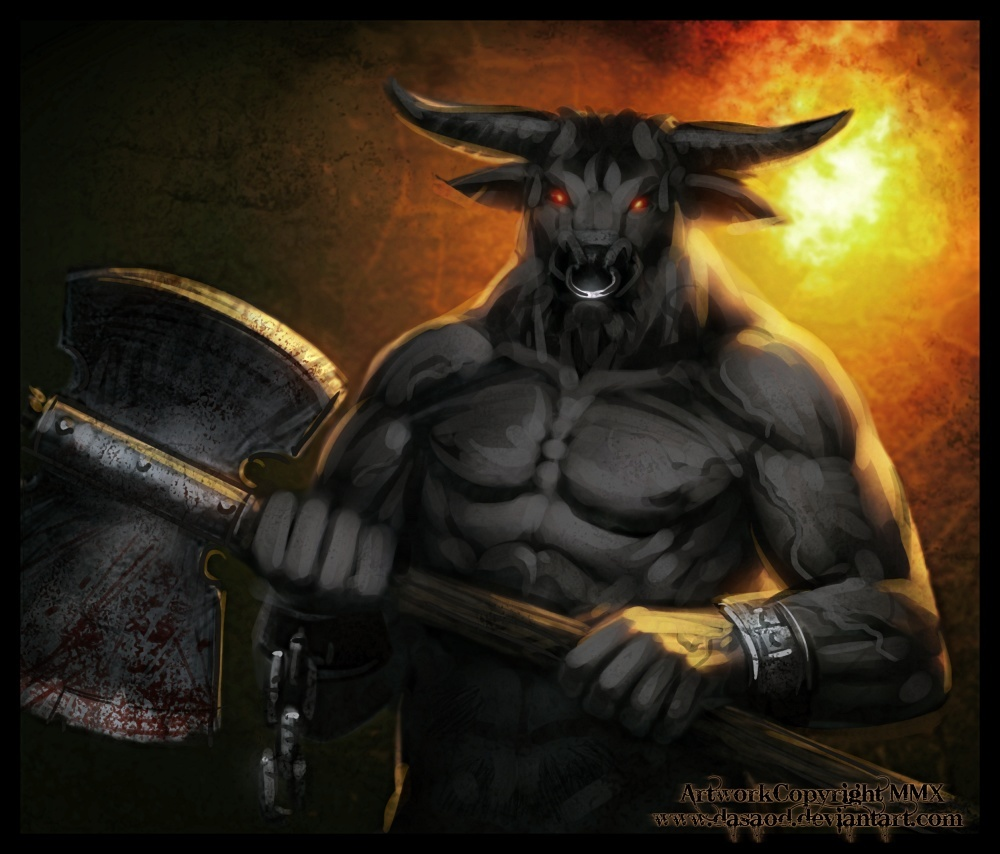 Minotaur spirit of vengence