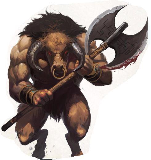 (Enemy) Minotaur