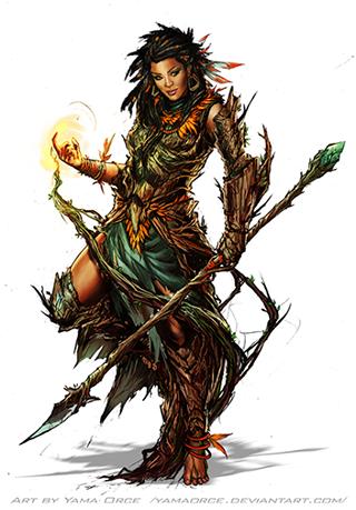 Caliandra of the Stagrunners