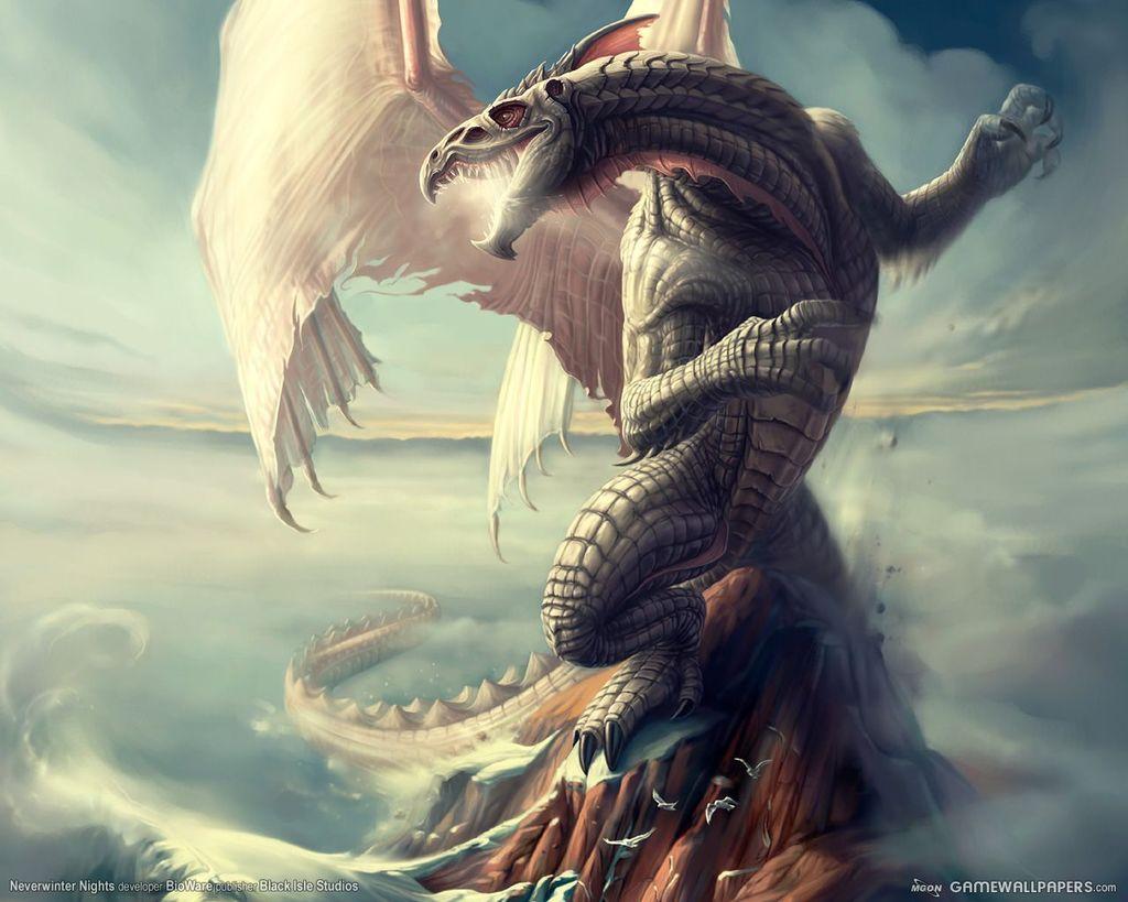 Karthaussir le dragon blanc