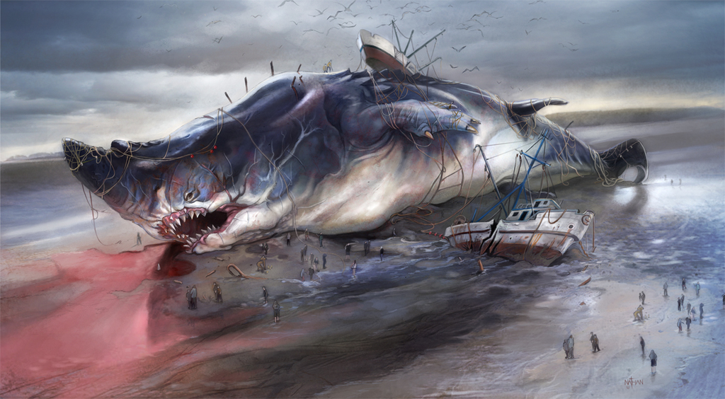 Bechard the Beached Battle-Baleine
