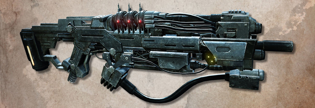 Alien Plasma Rifle