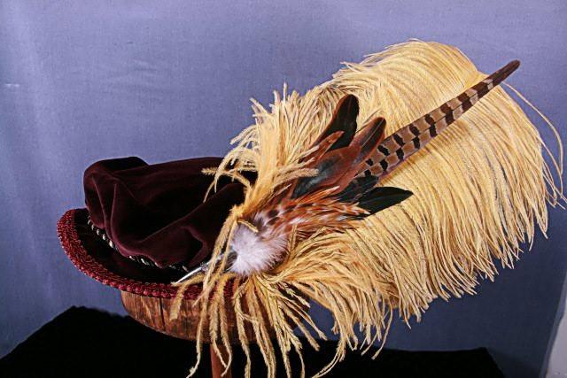 Fancy Flat Hat