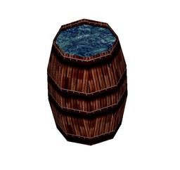 Barrel of Water