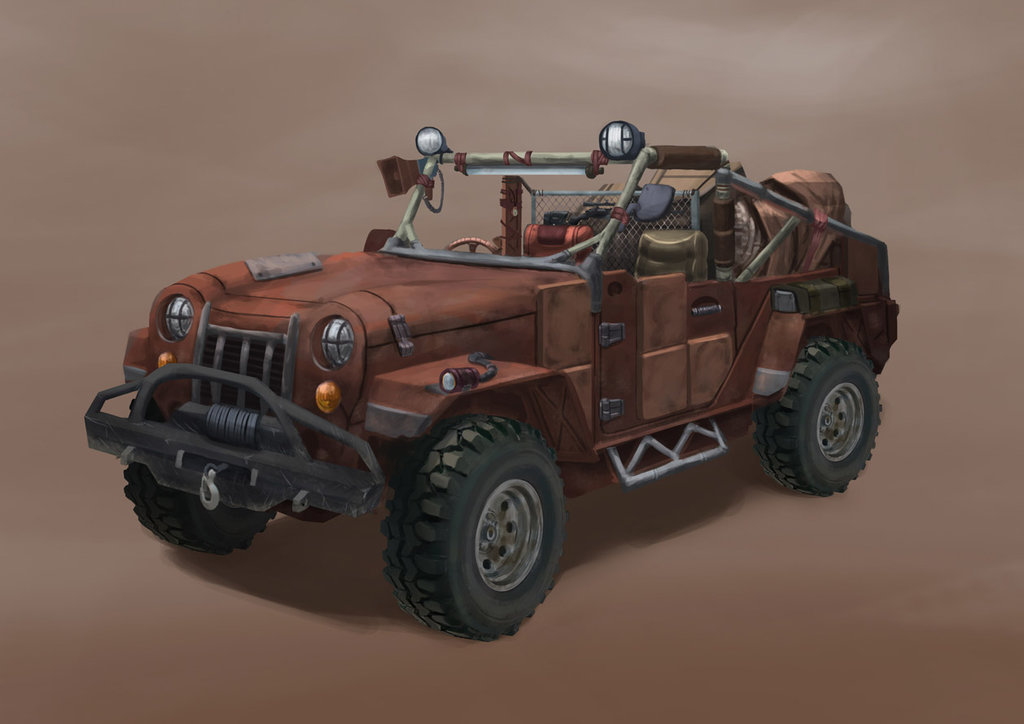 Wasteland Jeep