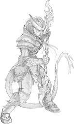 Tiefling Warlord
