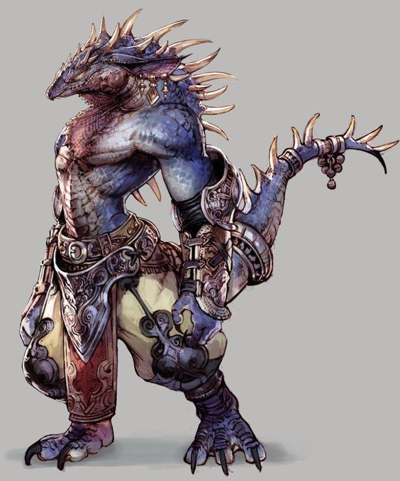 Ryu, the Dragonborn Monk