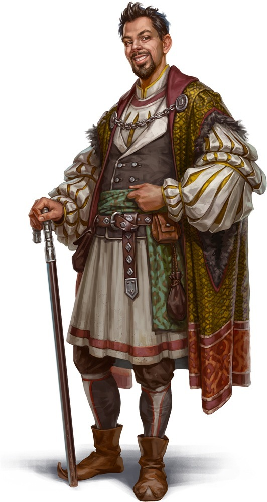Lord Iras Salva, Warden of the Ports