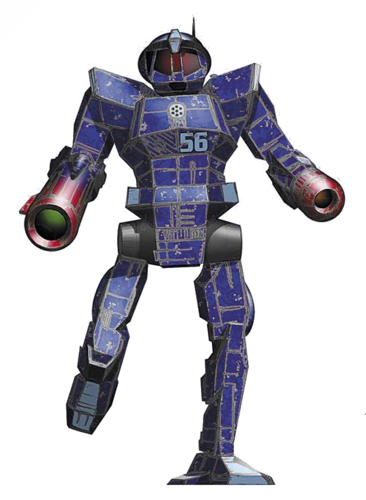 Achernar Battlemechs ENF-4R Enforcer