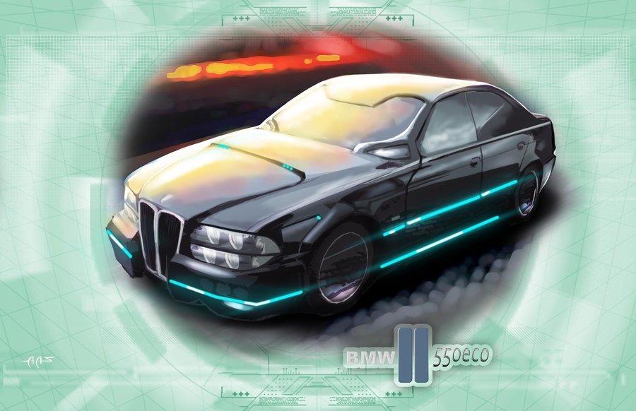 BMW 550 ECO Sedan