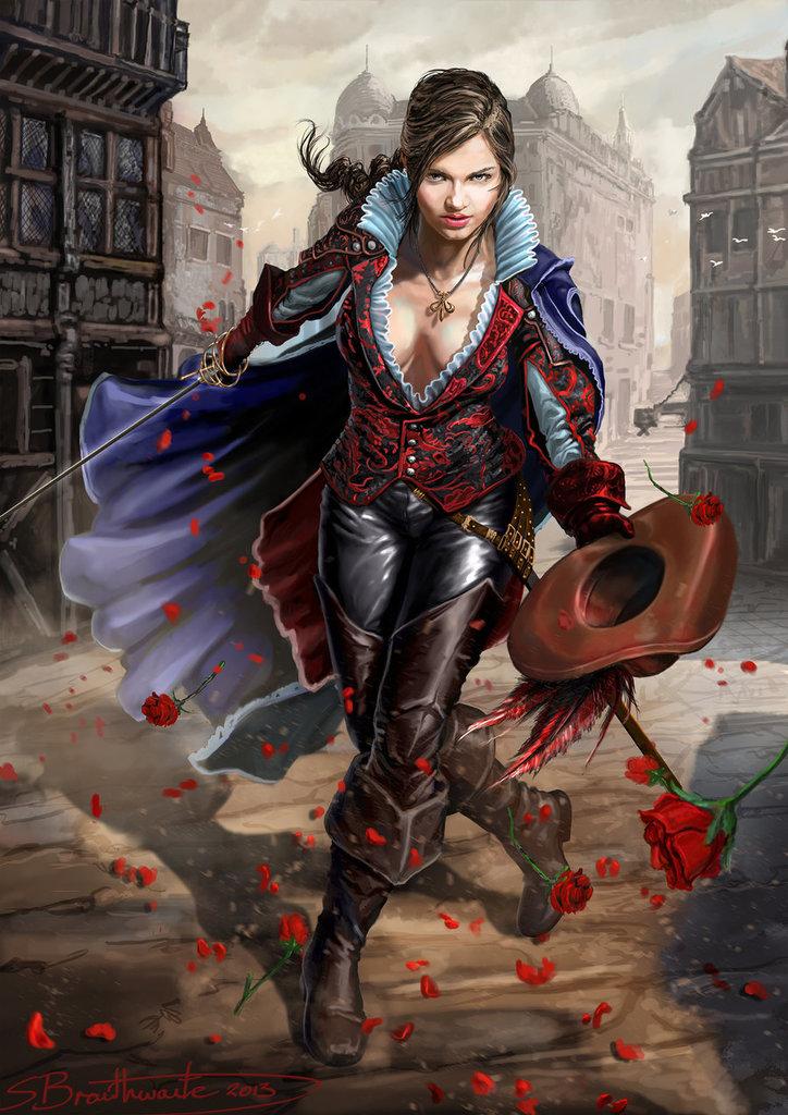Bryana of the Blade