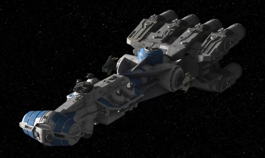 Corellian Engineering Corporation CR-90 Corvette