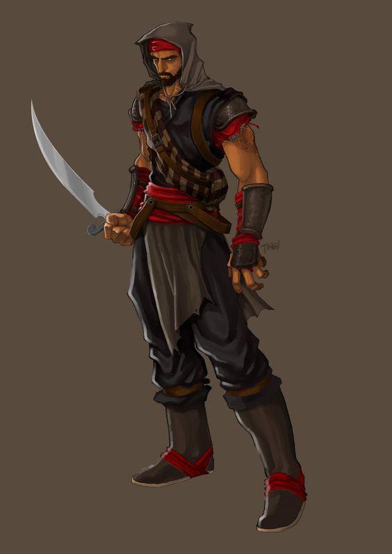Arrakai of the Sanguine Brotherhood