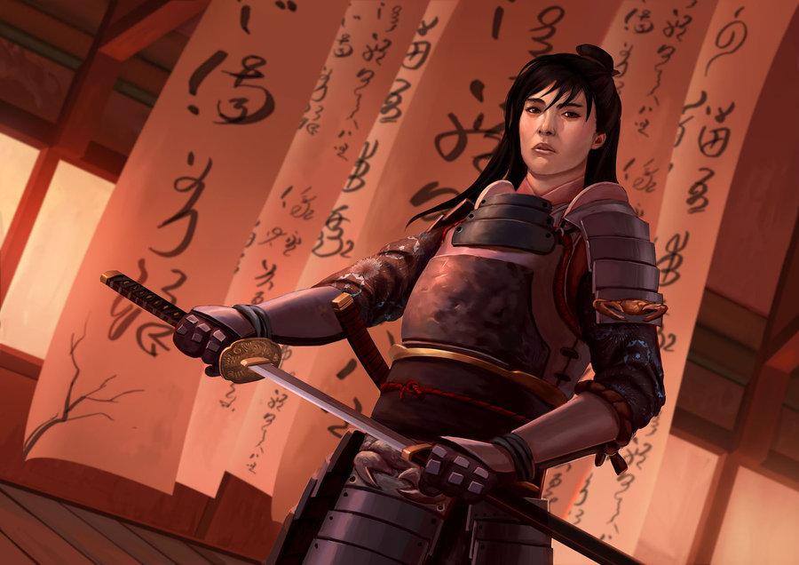 Hida Nayoko of House Kakeguchi