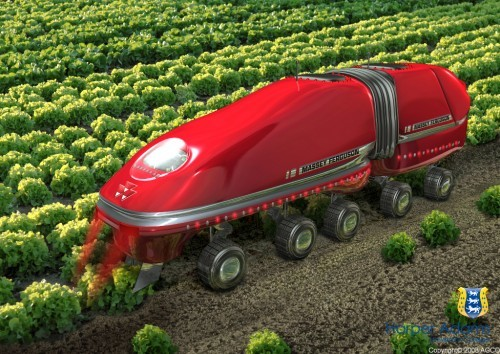 Agribot Industrial Mark III