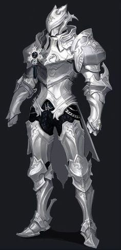 Moonsilver Armor, Heavy