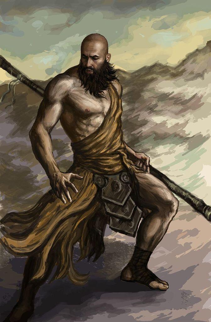 Harald - Elder of the Windwatchers