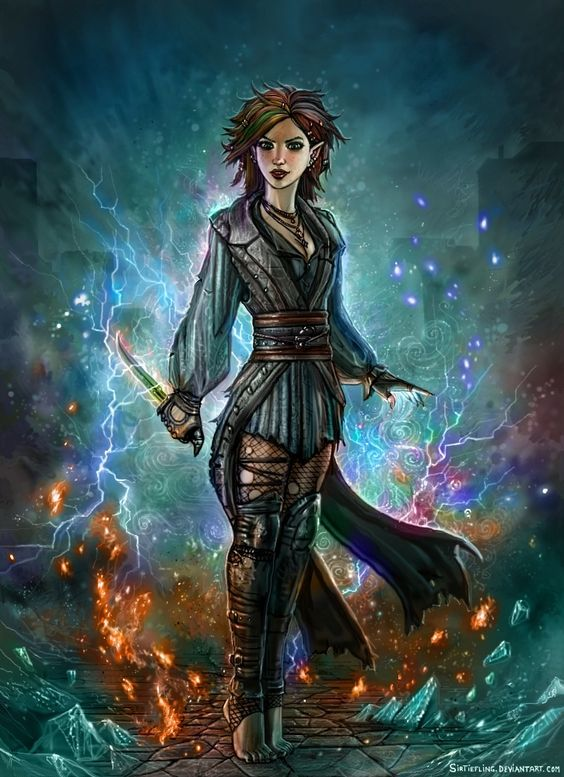 Raevori, daughter of Leshanna