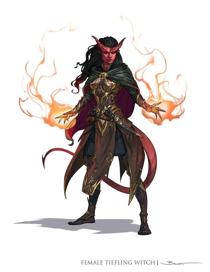 Bri - Tiefling Sorcerer