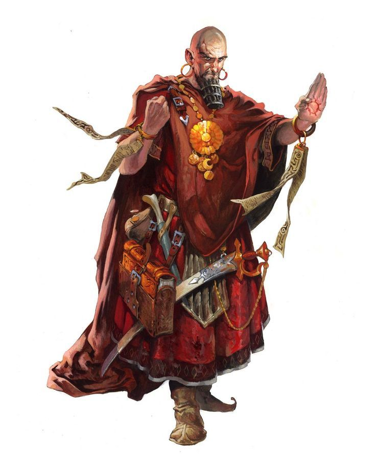 Imannyr, Red Priest of Torsch
