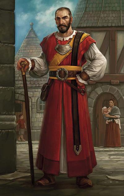 High Priest Vergano of Londas