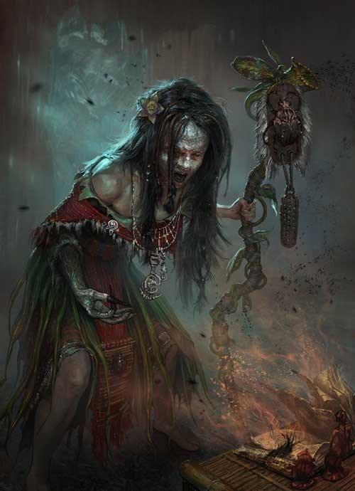 Grandmother Sanya Darkhollow