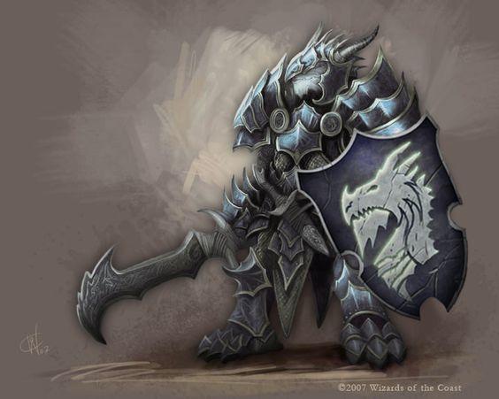 Marahtos, Dragonborn Paladin