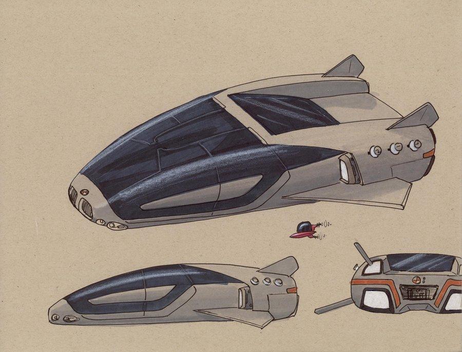 BMW 7250 Airspeeder