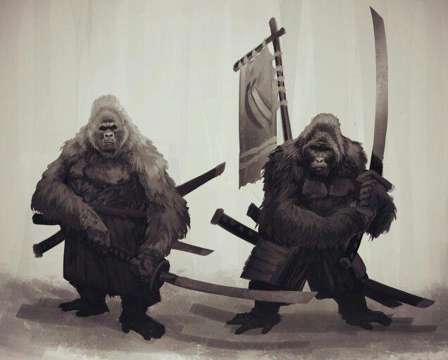 Ape Tribe Warriors
