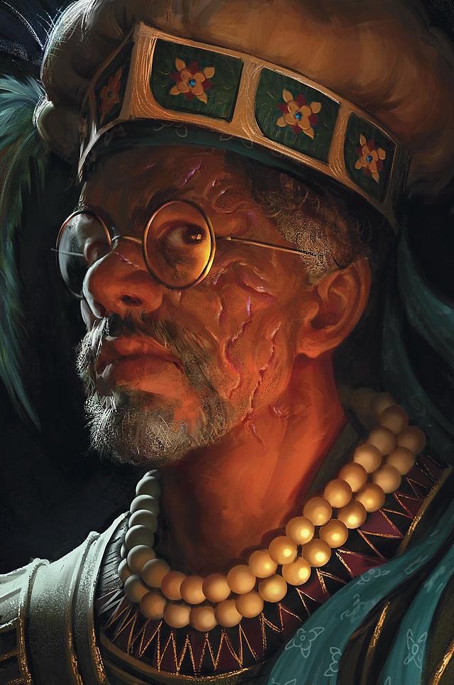 Dr. Rudolph Van Richten - AKA Rictavio