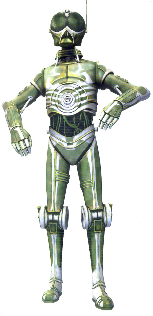 Arakyd Industries RA-7 Series Protocol Droid