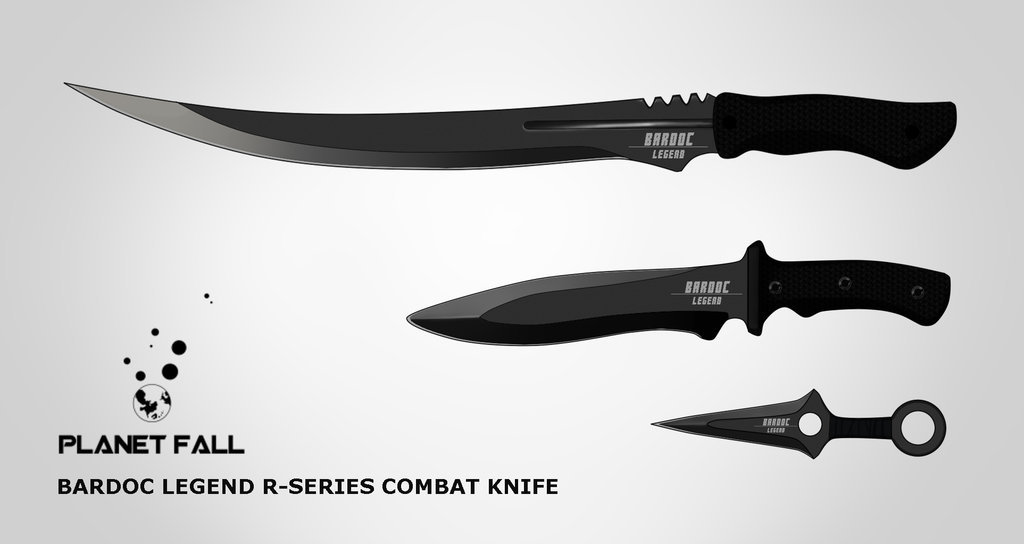 Bardoc Legend-R Combat Knives