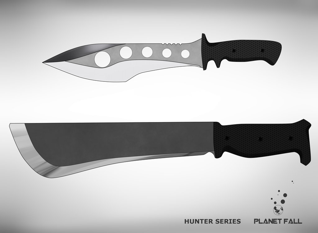 Bardoc Hunter Knives
