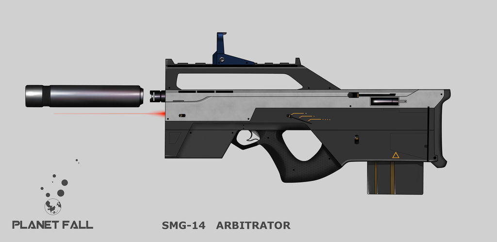 Bardoc SMG-14 Arbitrator