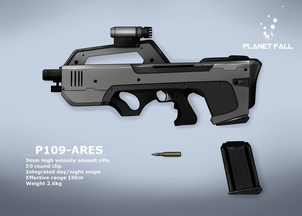 Bardoc P109 Assault Rifle