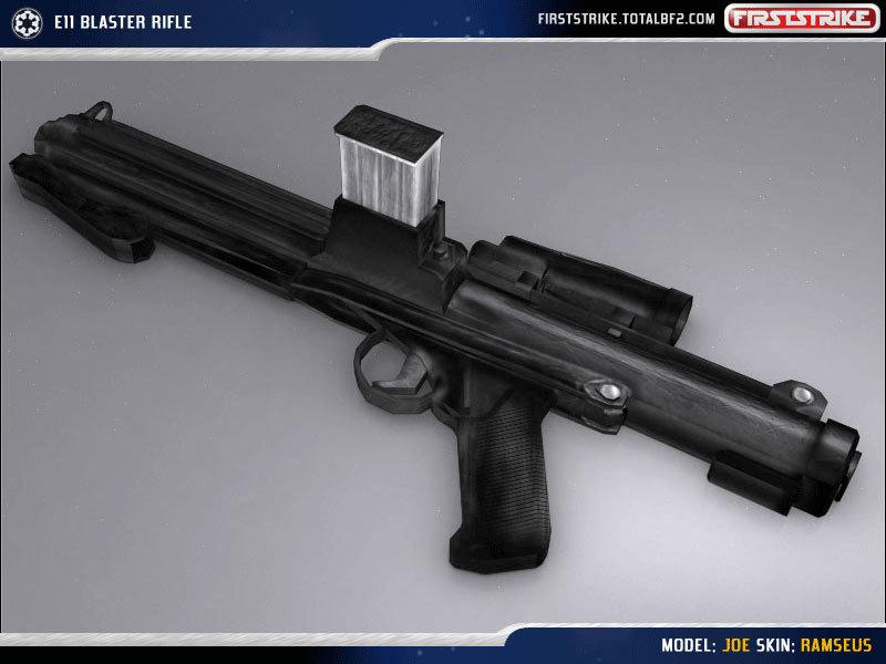 BlasTech E-11 Military Issue Blaster Rifle