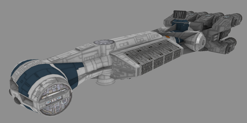 Corellian Engineering Corporation CR-90 Cargo Corvette