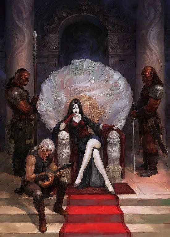 Queen Halina Venau Apker Von Domum-Stellae