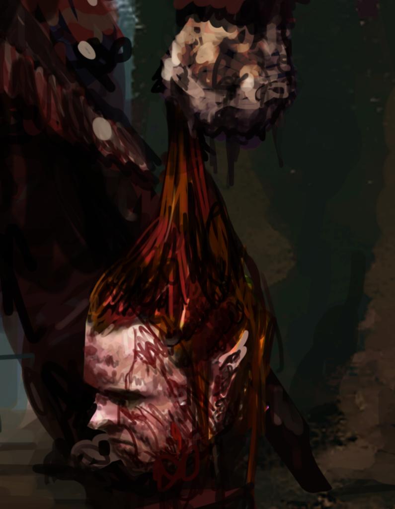 Kopf eines Sklavenhändlers
