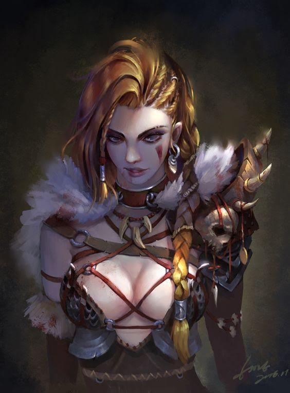 Yelenya of the Lidded Eyes