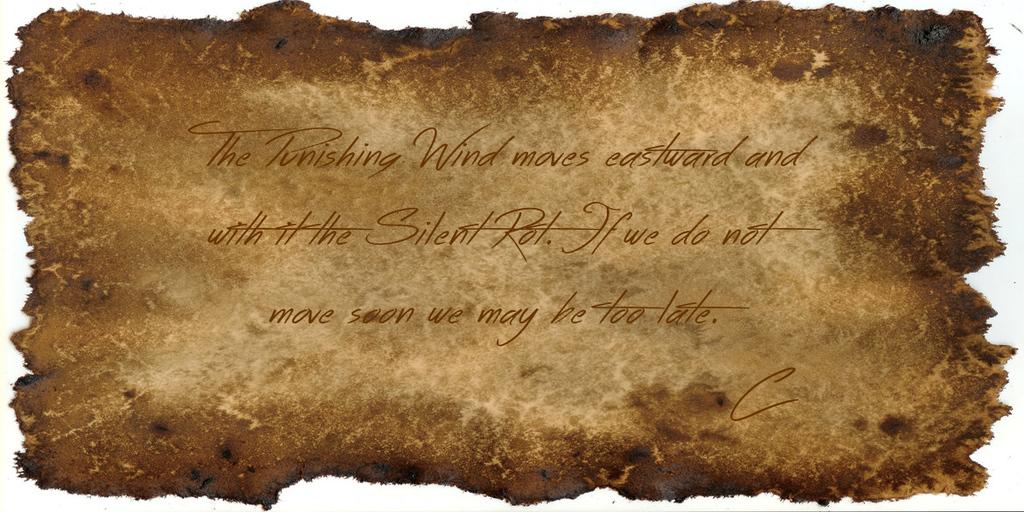 Adventurer's Note