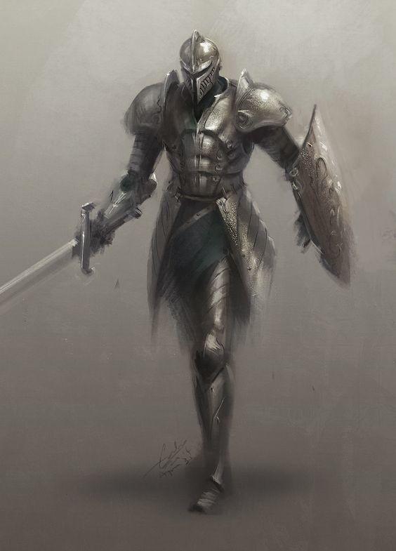 Silver Sword Warrior