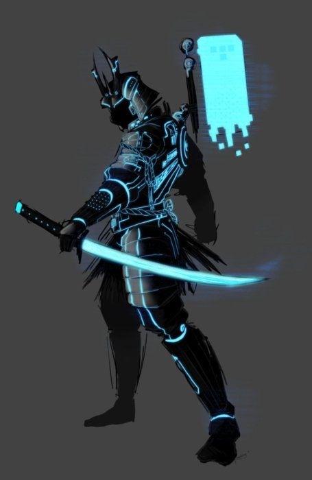 Villian: ?: Cyber Samurai