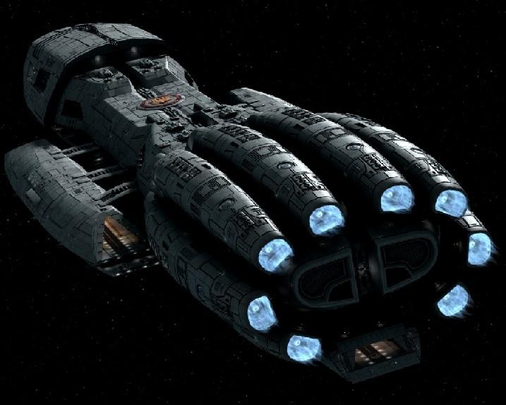 Battlestar Class Warship