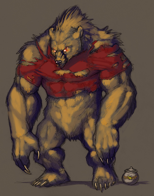Brawn the werebear