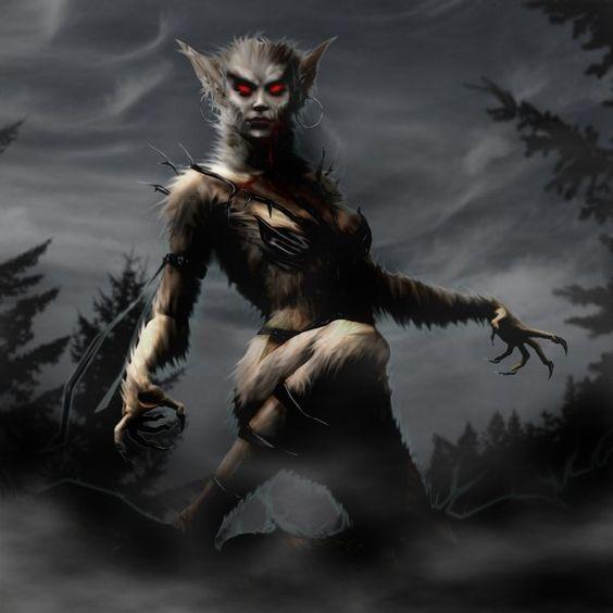 Sheila the Werewolf